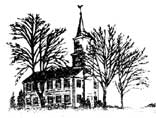 Pencil Drawing of the Newtown Meeting House